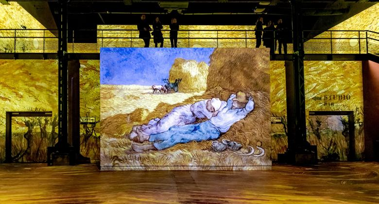 The Van Gogh exhibition at the Atelier des Lumières; an eye-opening experience