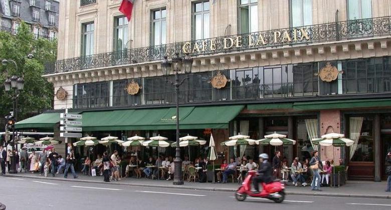 The Café de la Paix; A Parisian institution