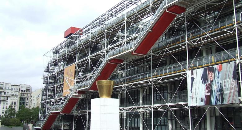 Summer at the Pompidou Centre