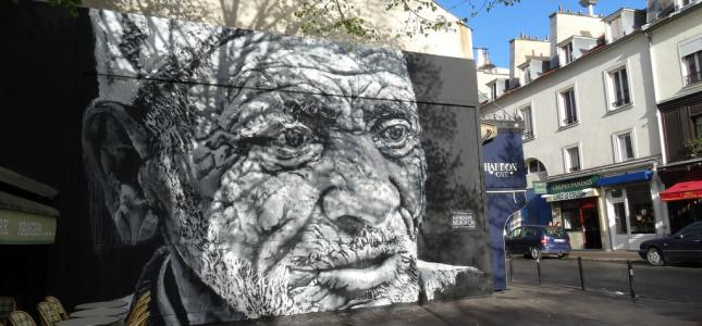 A walk in the artiest parts of Paris