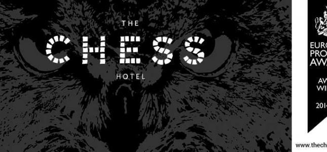 Le site du The Chess Hotel récompensé d'un HospitalityAward !