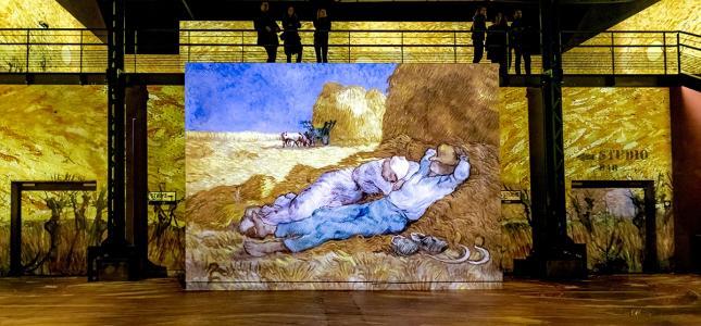 L'exposition Van Gogh à l'Atelier des Lumières : un moment hors du temps