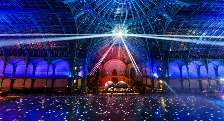 The magic of the Grand Palais des Glaces