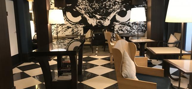 Notre espace lobby pour vos soirées