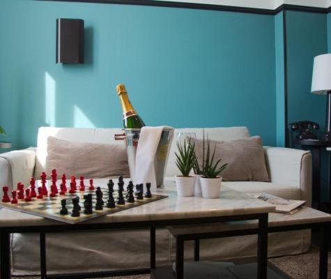 The Chess Hotel Paris - Gallery - Suite salon