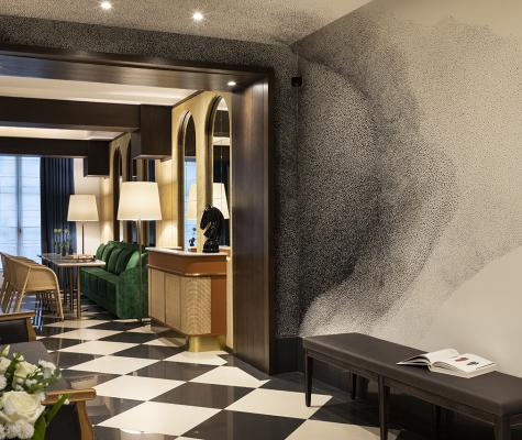 The Chess Hotel Paris - Gallery - Alix Waline Frescoe